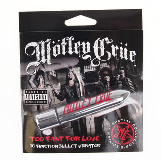 Vibrator Motley Crue - Too Fast For Love 10 - Payer HEAD, PLASTIC HEAD, Mötley Crüe