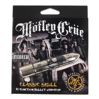 Vibrator Motley Crue - Classic Skull 10 - P&&string1&&, PLASTIC HEAD, Mötley Crüe
