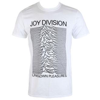 Majica muška Joy Division - Unknown Pleasures - White - PLASTIC HEAD, PLASTIC HEAD, Joy Division