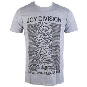 Majica muška Joy Division - Unknown Pleasures - Siva - PLASTIC HEAD, PLASTIC HEAD, Joy Division