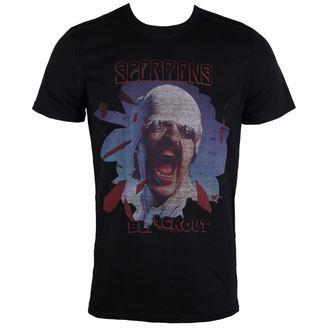 Majica metal muška Scorpions Black Out PLASTIC HEAD PH9869, PLASTIC HEAD, Scorpions