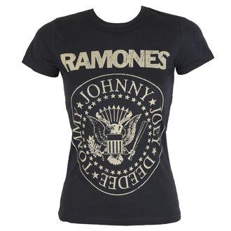 Majica ženska Ramones - DISTRESS CREST - BRAVADO, BRAVADO, Ramones