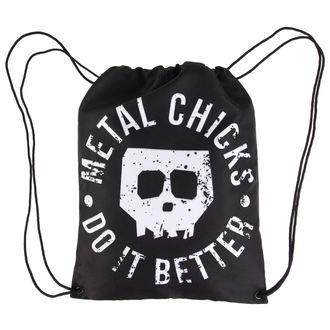 Torba/Ruksak METAL CHICKS DO IT BETTER - Skull, METAL CHICKS DO IT BETTER