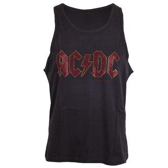 Muška majica AC / DC - LOGO CHARCOAL - AMPLIFIED - AV319ACS