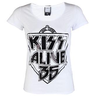 Majica metal Kiss - K 35 WHITE - AMPLIFIED, AMPLIFIED, Kiss