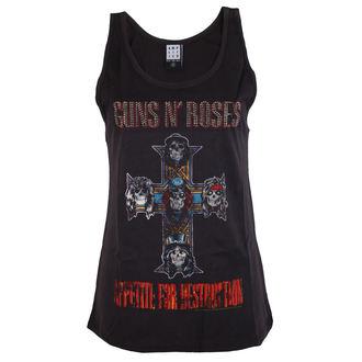 Majica bez rukava ženske Guns N' Roses - CLASSIC DAMANTE - AMPLIFIED, AMPLIFIED, Guns N' Roses