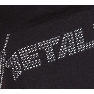 Majica bez rukava ženska METALLICA - CLASSIC LOGO CHARCOAL - AMPLIFIED, AMPLIFIED, Metallica
