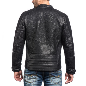 Jakna za proljeće/jesen muška Dusty Metal AFFLICTION 110OW237-BK, AFFLICTION
