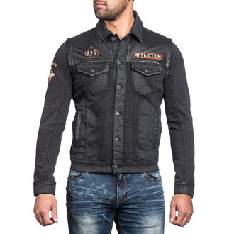 Jakna za proljeće/jesen muška Bike Cutter AFFLICTION 110OW238-BK, AFFLICTION