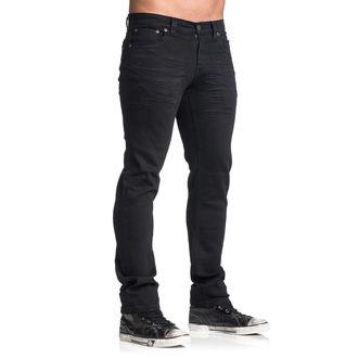 Muške hlače AFFLICTION - Gage Rising - Crne, AFFLICTION