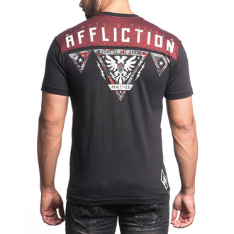 Majica hardcore muška Edge AFFLICTION A14081-BKRR, AFFLICTION