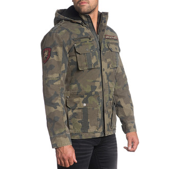 Jakna za proljeće/jesen muške Rusty Break AFFLICTION 110OW236-CAMO, AFFLICTION