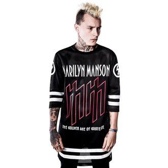 Majica Marilyn Manson Use Your Fist Hockey Team KILLSTAR K-DRS-F-2209, KILLSTAR, Marilyn Manson