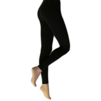 Ženske hlače (tajice) LEGWEAR - everyday - crne, LEGWEAR