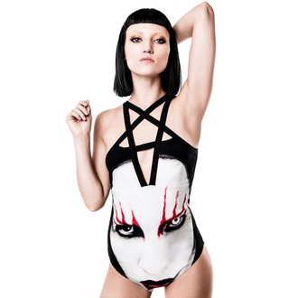 Ženski bodi Marilyn Manson Eat The Bitch KILLSTAR K-BDY-F-2215, KILLSTAR, Marilyn Manson