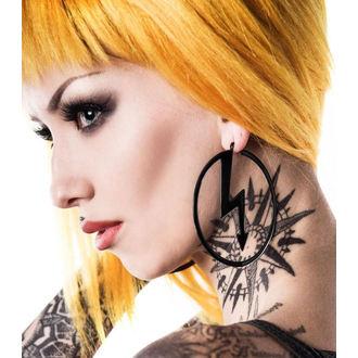 Naušnica KILLSTAR x MARILYN MANSON - Number 7 - Black, KILLSTAR, Marilyn Manson
