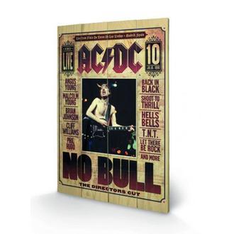 Drvena slika AC / DC - No Bull, PYRAMID POSTERS, AC-DC