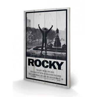 Drvena slika Rocky I, PYRAMID POSTERS