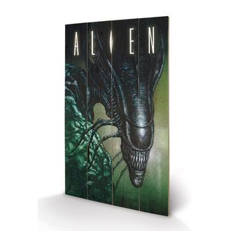 Drvena slika Alien - Creep - Pyramid Posters, PYRAMID POSTERS, Alien - Vetřelec