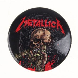 Bedž Metallica - Alien Birth, PYRAMID POSTERS, Metallica