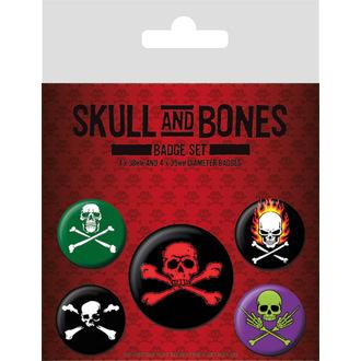 Bedževi Skull and Bones, PYRAMID POSTERS