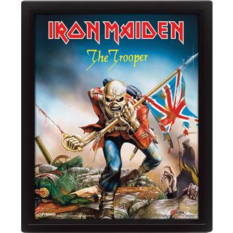 3D slika Iron Maiden - The Trooper, PYRAMID POSTERS, Iron Maiden