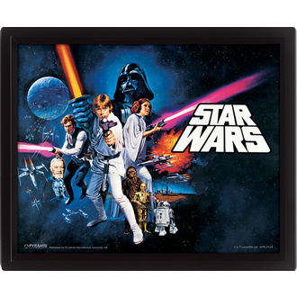 3D slika Star Wars - A New Hope, PYRAMID POSTERS