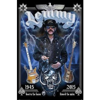 Poster Bend - Lemmy - komemorativan, PYRAMID POSTERS, Motörhead