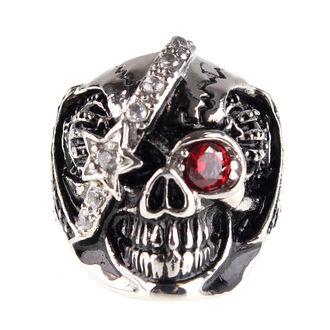 Prsten ETNOX - Machine Skull 2, ETNOX