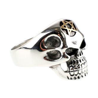 Prsten ETNOX - Big Pentagram Skull, ETNOX