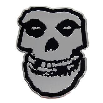 Naljepnica mala (metal) Misfits - Skull, C&D VISIONARY, Misfits