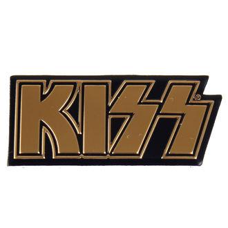 Naljepnica mala (metal) KISS - Logo, C&D VISIONARY, Kiss