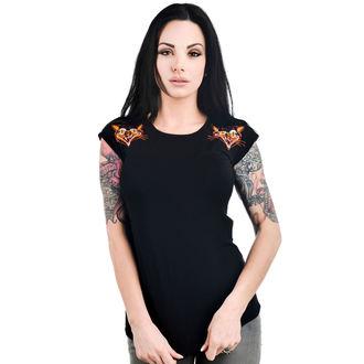 Majica gotika i punk ženska - DAME - TOO FAST, TOO FAST
