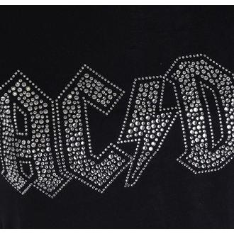 Majica metal ženska AC-DC - Logo - ROCK OFF, ROCK OFF, AC-DC