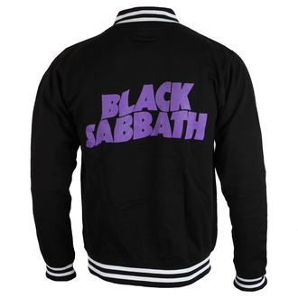 Majica na kopčanje muška Black Sabbath - Wavy Logo - ROCK OFF, ROCK OFF, Black Sabbath