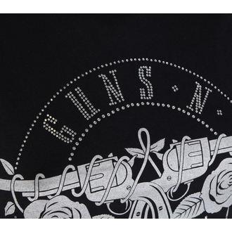 Majica metal ženska Guns n Roses - Circle Logo - ROCK OFF, ROCK OFF, Guns N' Roses