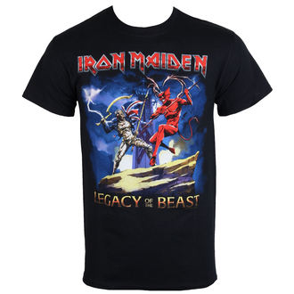 Majica metal muška Iron Maiden - Legacy Beast Fight - ROCK OFF, ROCK OFF, Iron Maiden