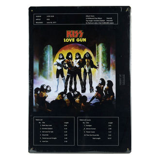 Znak KISS - Love Gun, Kiss