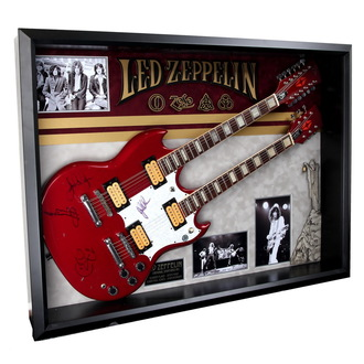 Potpisana gitara Led Zeppelin - ANTIQUITIES CALIFORNIA, ANTIQUITIES CALIFORNIA, Led Zeppelin
