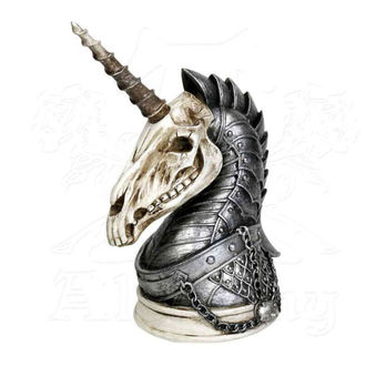 Ukras (jednorog) ALCHEMY GOTHIC - Geistalon Unicorn Skull, ALCHEMY GOTHIC