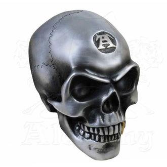 Ukras (lubanja) ALCHEMY GOTHIC - Metalised Alchemist Skull, ALCHEMY GOTHIC