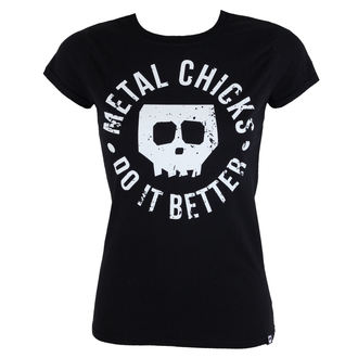 Majica ženska METAL CHICKS DO IT BETTER - Skull, METAL CHICKS DO IT BETTER