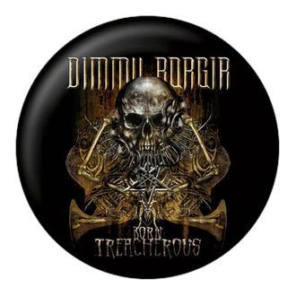 Bedž DIMMU BORGIR - Born treacherous - NUCLEAR BLAST, NUCLEAR BLAST, Dimmu Borgir