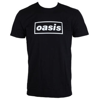 Majica metal muška Oasis - Black Logo - LIVE NATION, LIVE NATION, Oasis
