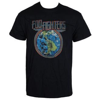 Majica metal muška Foo Fighters - Globe - LIVE NATION, LIVE NATION, Foo Fighters
