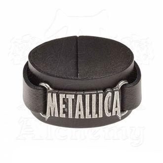 Narukvica Metallica - ALCHEMY GOTHIC - Logo, ALCHEMY GOTHIC, Metallica