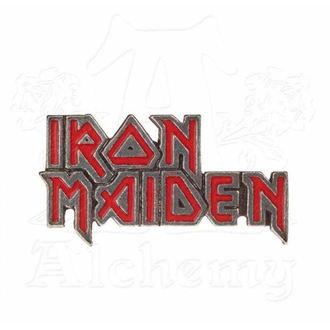 Značka Iron Maiden - ALCHEMY GOTHIC - Enamel Logo, ALCHEMY GOTHIC, Iron Maiden