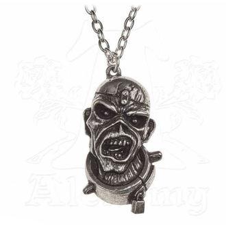 Ogrlica Iron Maiden - ALCHEMY GOTHIC - Piece of Mind, ALCHEMY GOTHIC, Iron Maiden