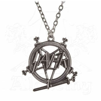 Ogrlica Slayer - ALCHEMY GOTHIC - Pentagram, ALCHEMY GOTHIC, Slayer