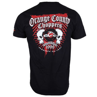 Majica muška - Two Skulls - ORANGE COUNTY CHOPPERS, ORANGE COUNTY CHOPPERS